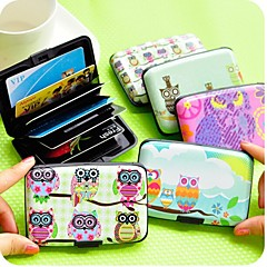Lovely Owl Stylish Multi Color Card Holder (Random Delivery)