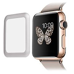 Film 0.2mm premii szkła szkło hartowane rzeczywistym z pełną metalową krawędź pokrywy ekranu ochraniacz dla inteligentnego zegarka Apple