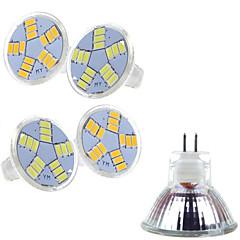 preiswerte LED-Birnen-400-500 lm LED Spot Lampen MR11 15 LED-Perlen SMD 5730 Warmes Weiß / Kühles Weiß 12 V