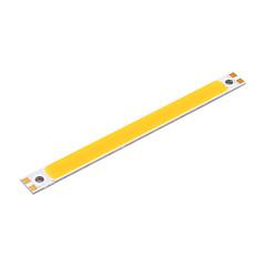 youoklight® 2 stuks 18W 1700lm 6500K cob led wit licht bar - zilver + geel (12 ~ 14v)