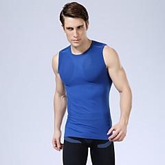 rápidas uv seca homens atléticos colete de esportes de roupas de compressão de musculação sensuais shirt 5 cores para escolher