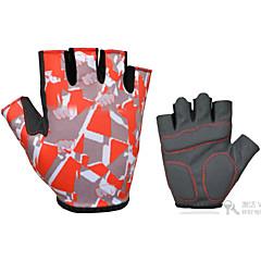 tanie Rękawiczki na rower-Rękawiczki sportowe Rękawiczki rowerowe Keep Warm Quick Dry Pyłoszczelne Zdatny do noszenia Wearproof Lekki Odporny na wstrząsy