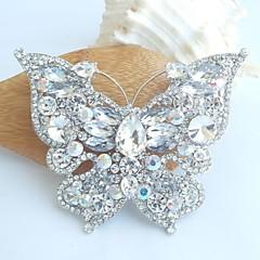 Animal Shape Butterfly Ruudun väri Korut Varten Häät Party Erikoistilaisuus Syntymäpäivä