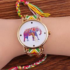 お買い得  大特価腕時計-女性用 ファッションウォッチ ウッド バンド ボヘミアンスタイル