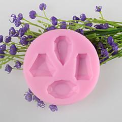 helmi muotoinen konvehti kakku suklaa silikonimuottia koristelutyökalut bakeware