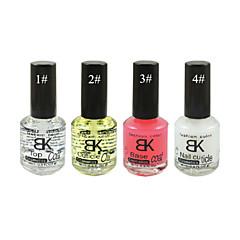 uñas bk importa serie de uñas (18 ml, 1 #: capa superior; 2 #: cutícula aceite; 3 #: capa base; 4 #: cutícula de uñas)