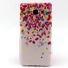 billige Galaxy A5 Etuier-Etui Til Samsung Galaxy Samsung Galaxy etui Mønster Bagcover Farvegradient TPU for A5 A3