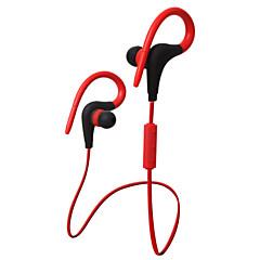 støjisolerende sport kører hovedtelefon ørekrog avoide falder ud med mikrofon og volumen fjernbetjening til iPhone