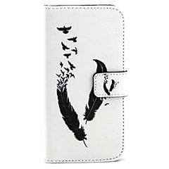 Για Samsung Galaxy Θήκη Θήκη καρτών / Πορτοφόλι / με βάση στήριξης / Ανοιγόμενη tok Πλήρης κάλυψη tok Φτερό Συνθετικό δέρμα SamsungS6
