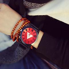 preiswerte Armbanduhren für Paare-Herrn Damen Paar Armbanduhren für den Alltag Modeuhr Quartz 30 m PU Band Analog Retro Schwarz - Rot Grün Blau