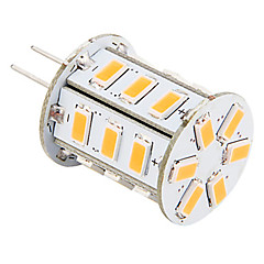 G4 LED-maïslampen 24 leds SMD 5730 Warm wit 140lm 2500-3500K AC 12V