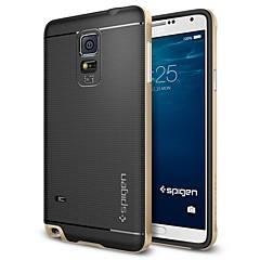 Недорогие Чехлы и кейсы для Galaxy Note 5-Кейс для Назначение SSamsung Galaxy Samsung Galaxy Note Покрытие Кейс на заднюю панель Геометрический рисунок ТПУ для Note 5 Edge / Note 5 / Note 4