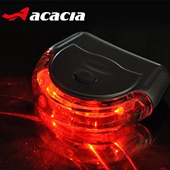 Bike Lights Rear Bike Light Safety Lights - - Cycling Easy Carrying Button Battery Lumens USB Battery Cycling/Bike-acacia