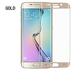 abordables Accesorios de Samsung-Samsung Galaxy Galaxy Protector de pantalla para Samsung s6 borde templado Protector de pantalla frontal de cristal anti huella