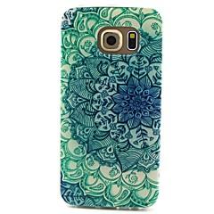 olcso Galaxy S3 tokok-Case Kompatibilitás Samsung Galaxy Samsung Galaxy tok Minta Fekete tok Mandala TPU mert S6 edge S6 S5 Mini S5 S4 Mini S4 S3 Mini S3