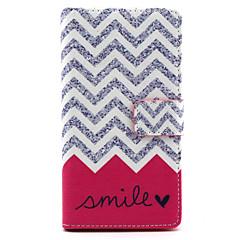 Для Кейс для Sony / Xperia Z5 Кошелек / Бумажник для карт / со стендом / Флип Кейс для Чехол Кейс для Полосы / волосы Твердый