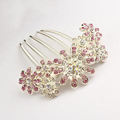 abordables Joyería para el Cabello-Mujer Flor, Legierung Peine - Elegante / Peinetas / Peinetas