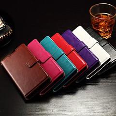 flip-suport capacul fantei cardului de rama foto din piele uleioasă simplu coajă pu telefon mobil pentru Hua Wei onoare 7 culori asortate