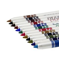 قلم العين قلم رصاص رطب Volumized / يدوم طويلاً / طبيعي / سريع الجفاف / متنفس