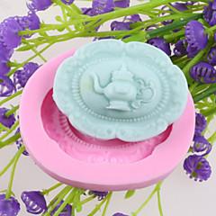 voordelige -heupfles fondant cake chocolade siliconen mallen, decoratie gereedschap bakvormen