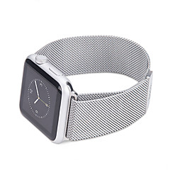 halpa Apple Watch-hihnat-Milanese silmukka omenakelloille 42mm 38mm metallinen ruostumaton teräs hihna rannekoru