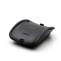 Charging Dock for Samsung Galaxy Gear S SM-R750 USB Smart Watch Charger Cradle with Cable 1m Black Color
