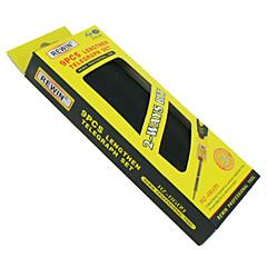 rewin® työkalu 9 kpl doiuble pään tarkkuus sähköisillä ruuvimeisseli set, työkalusarja