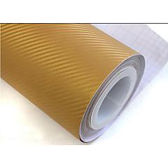 "lorcoo ™ simcarbon 3d koolstofvezel vinyl film omslag 12"" x 50"" vel (geschenk rand rakel)"