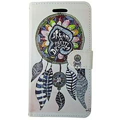 إلى نوكيا حالة محفظة / حامل البطاقات / مع حامل غطاء كامل الجسم غطاء ملاحق الأحلام قاسي جلد اصطناعي Nokia Nokia Lumia 640