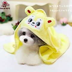 cheap Dog Supplies & Grooming-Dog Towel Wipes Portable Cosplay Yellow Green Blue Pink