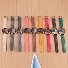 preiswerte Tolle Angebote auf Uhren-Damen Quartz Armbanduhr Armbanduhren für den Alltag PU Band Charme / Modisch Schwarz