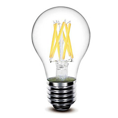 cheap LED Bulbs-1pc 5W 500 lm E26/E27 LED Filament Bulbs G60 6 leds COB Dimmable Warm White AC 110-130V AC 220-240V