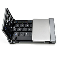 お買い得  Appleアクセサリー-IOSアンドロイドのWindows PCタブレットスマートフォン用の折り畳み式のBluetoothキーボード超薄型ポケットワイヤレスキーボード™古いサメ
