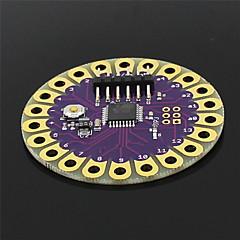 아두 이노를위한 착용 할 수있는 개발 보드 atmega328p 릴리 패드 아두 - 보라색 + 골드