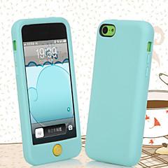Χαμηλού Κόστους Θήκες iPhone 5c-Για iPhone X iPhone 8 Θήκες Καλύμματα Πίσω Κάλυμμα tok Μαλακή Σιλικόνη για iPhone X iPhone 8  Plus iPhone 8 iPhone 5c
