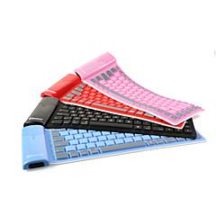 お買い得  スマートハードウェア-bluetooth4.0キーボード折り畳み式のコンピュータのキーボード、携帯電話、タブレットBluetoothキーボード