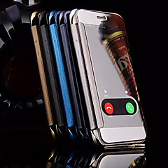 Color Mirror Window To Answer Phone Shell for iPhone 6s 6 Plus