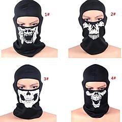 voordelige Sjaals & Neck Gaiter-Face Mask Winter Houd Warm Winddicht Stofbestendig Ademend Recreatiesport Fietsen / Fietsen Heren Dames Gaas Doodskoppen