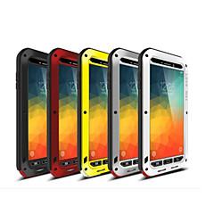 Недорогие Чехлы и кейсы для Galaxy Note 5-Для Samsung Galaxy Note Защита от удара Кейс для Чехол Кейс для Армированный Металл Samsung Note 5