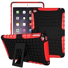 abordables Carcasas y Fundas para iPad Air-Funda Para iPad Air Antigolpes con Soporte Funda Trasera Armadura ordenador personal para iPad Air
