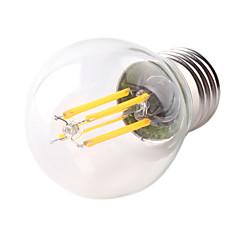 preiswerte LED-Birnen-1pc 4W 360lm E26 / E27 LED Glühlampen G45 4 LED-Perlen COB Dekorativ Warmes Weiß Kühles Weiß 220-240V