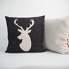 tanie Poduszki-Bawełna / Bielizna / Cotton / Linen Pokrywa Pillow / Poduszka-Nowość / Poszewka na poduszkę ,Kwiatowy / Nowość / Textured / Geometryczny
