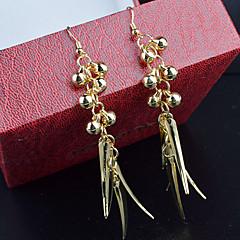 Earring Drop Earrings Jewelry Women Wedding / Party / Daily / Casual Alloy 2pcs Gold / Silver