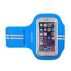billige Fitnesstasker-HAISKY Armbånd Mobiltelefonetui for Racing Cykling / Cykel Løb Jogging Sportstaske Påførelig Touch Screen Telefon/Iphone Løbetaske iPhone