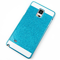 Недорогие Чехлы и кейсы для Galaxy Note 5-Кейс для Назначение SSamsung Galaxy Samsung Galaxy Note Защита от удара Кейс на заднюю панель Сияние и блеск ПК для Note 5 / Note 4 / Note 3
