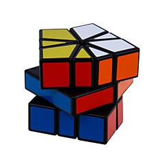 hesapli -Sihirli küp IQ Cube Shengshou Alien Square-1 3*3*3 Pürüzsüz Hız Küp Sihirli Küpler bulmaca küp profesyonel Seviye Hız Klasik & Zamansız Çocuklar için Yetişkin Oyuncaklar Genç Erkek Genç Kız Hediye