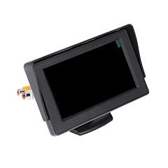"""dearroad carro lcd inverter câmera colorida retrovisor monitor de dvd vcr controle remoto 4.3 """"TFT"""