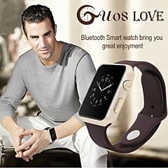 abordables Relojes Inteligentes-gu08 podómetro reloj SmartWatch rastreador de sueño reloj inteligente ios android