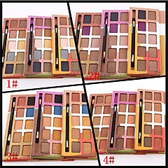 10 Colors Paltetă Ochi Sclipici Paleta fard de pleoape Pudră Set Καθημερινό Μακιγιάζ / Σμόκι Μακιγιάζ