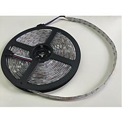 abordables Regalo Gratis-ZDM® 5 m Sets de Luces / Tiras de Luces RGB 300 LED 5050 SMD 1 adaptador de 12V 6A / Controlador de sonido musical de 20 teclas RGB Cortable / Fiesta / Adecuadas para Vehículos 100-240 V 1 juego